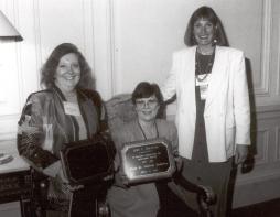 Barbara Judy Chris awards