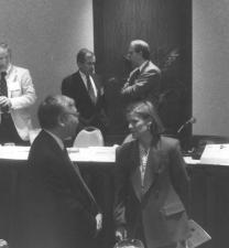 Nancy and speaker